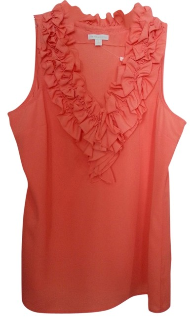 Preload https://img-static.tradesy.com/item/4864873/new-york-and-company-coral-blouse-size-12-l-0-0-650-650.jpg