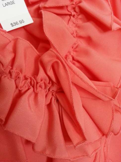 New York & Company Top Coral Image 5