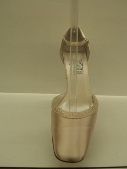 Special Occasions by Saugus Shoe Pink Blush Wide Size US 10