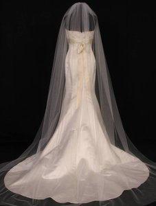Your Dream Dress Exclusive S0101xvl Diamond White Chapel Bridal Veil