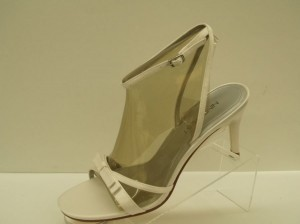 Nine West Sweetheart Diamond White Size 10 Free Usa Shipping White Sandal Stilettos Nine West Open Toe Ankle Strap High Heels Wear Wedding Shoes
