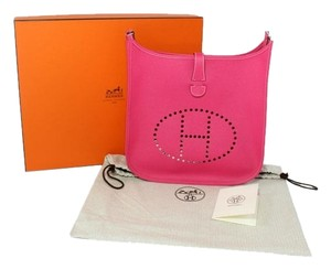 Hermès Pink Tote Leather Shoulder Bag