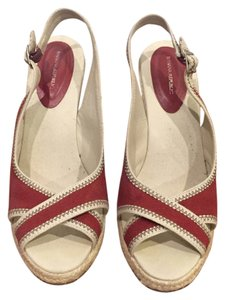 Banana Republic Red Wedges