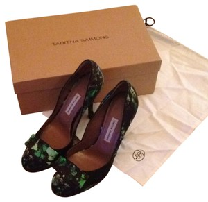 Tabitha Simmons Print Pumps