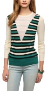 Urban Outfitters Anthropologie Free People Coincidence Chance Intarsia Sweater