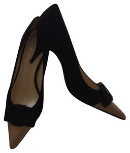 Bettye Muller Black&Ivory Pumps
