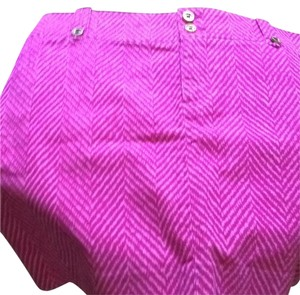 Lilly Pulitzer Mini Skirt Pink and white