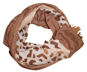 Other Leopard Animal Print 2-Sided Boho Scarf