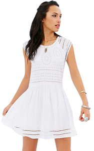 Ecote short dress White Urban Outfitters on Tradesy