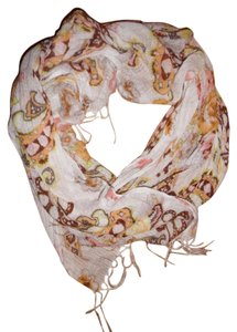 Other Floral Thin Boho Hippie Scarf