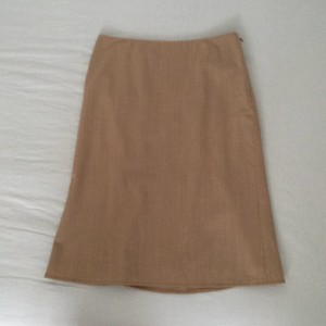 Banana Republic Skirt Camal