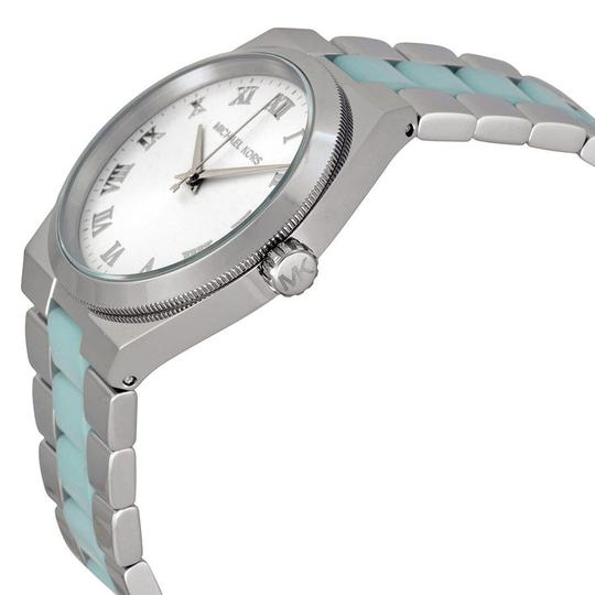 Michael Kors Michael Kors Blue Chambray Silver Tone Ladies Designer Watch