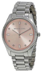 Michael Kors Michael Kors Blush Dial Silver Tone Ladies Designer Watch