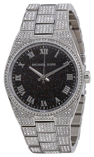 Preload https://item3.tradesy.com/images/michael-kors-michael-kors-crystal-pave-silver-tone-with-black-dial-ladies-designer-watch-4870492-0-0.jpg?width=440&height=440