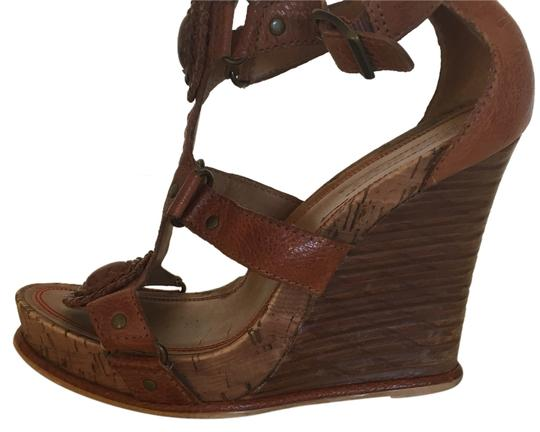 Miss Sixty Brown Wedges