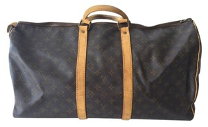 Louis Vuitton Canvas Monogram Travel Bag