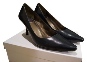 Calvin Klein Leather Navy Pumps
