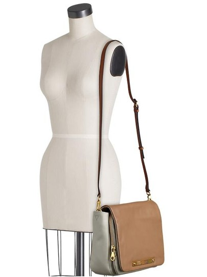 Marc by Marc Jacobs Tan Leather Purse Cross Body Bag