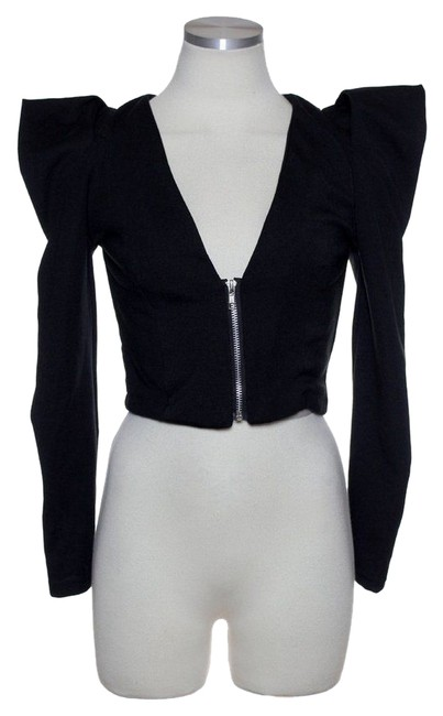 Preload https://item3.tradesy.com/images/lf-black-ponte-knit-crop-size-os-one-size-4871227-0-0.jpg?width=400&height=650