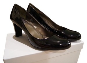 Calvin Klein Patent Leather Black Patent Pumps