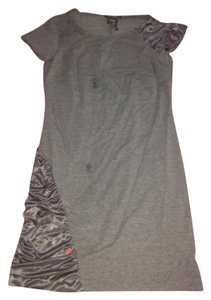 short dress Grey on Tradesy