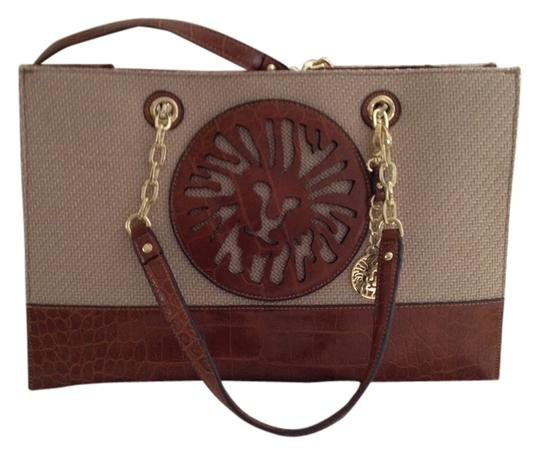 Preload https://item5.tradesy.com/images/saddle-and-tan-leather-canvas-tote-4871689-0-0.jpg?width=440&height=440