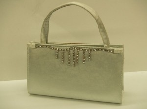 Silver Night Bag