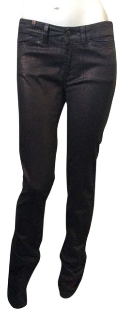 Other Skinny Pants Black Coating with Bronze Shimmer Image 0