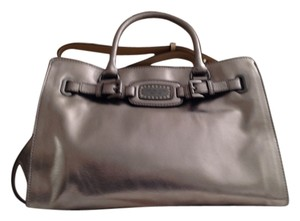 Michael Kors Tote in Silver Beige Metallic