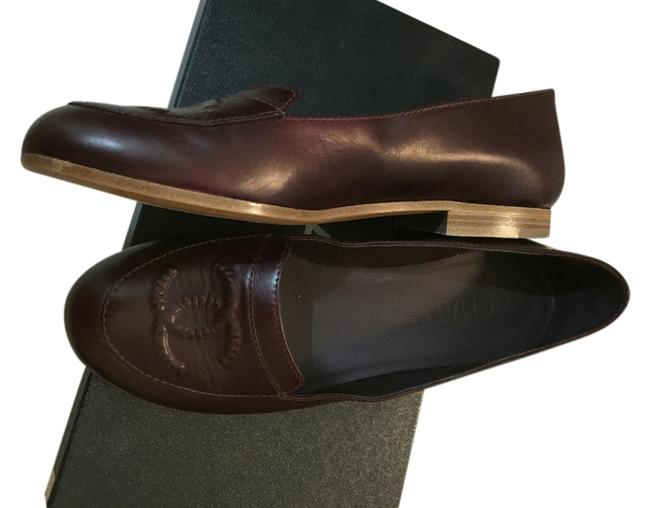 Item - Burgundy Moscassins Loafers 13a G29170x15060 Formal Shoes Size US 6.5 Regular (M, B)