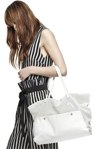 Hayden-Harnett Tote in Cream