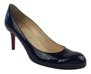 Christian Louboutin Navy Pumps