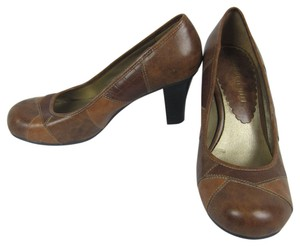 Madden Girl Round Toe Indie Heels brown Pumps