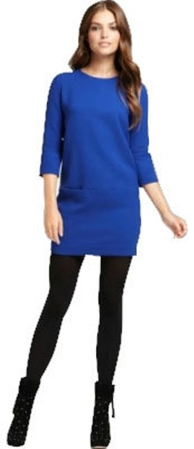 Preload https://item4.tradesy.com/images/ann-taylor-cobalt-blue-mini-workoffice-dress-size-petite-8-m-4873-0-0.jpg?width=400&height=650