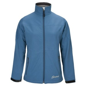 Cloudveil Womens Blue Phelps Cyclone Soft Shell Serendipity Coat Light Blue Jacket
