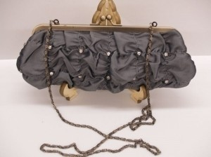 Silver/Silver Dark Night Bag Bridal Handbag