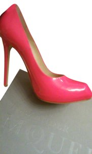 Alexander McQueen Hot Pink Pumps