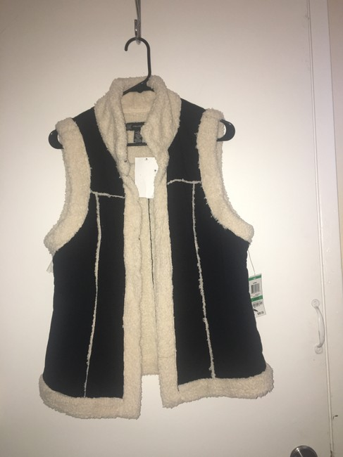 INC International Concepts Shearling Faux Suede Super Soft Vest
