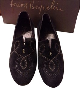 Henry Beguelin Black Flats