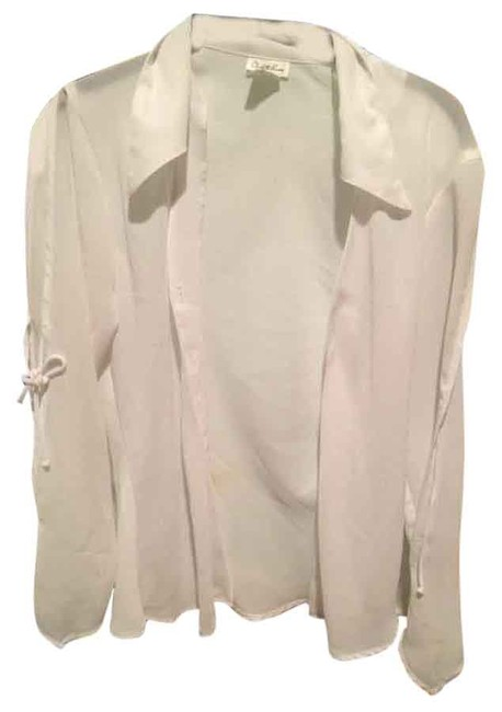 Charlotte Russe Polyester Top White