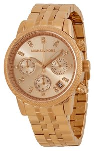 Michael Kors Michael Kors Rose Gold Ladies Casual Style Designer Watch