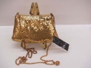 Gold Night Bag
