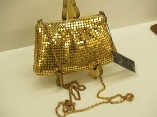 Gold/Yellow Gold Vintage with Tags In Excellent Condition Bridal Handbag