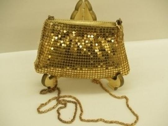 Gold/Yellow Gold Vintage Bag New with Tags In Excellent Condition Bridal Handbag