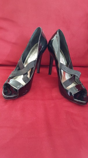 Jessica Simpson Stiletto Black Pumps