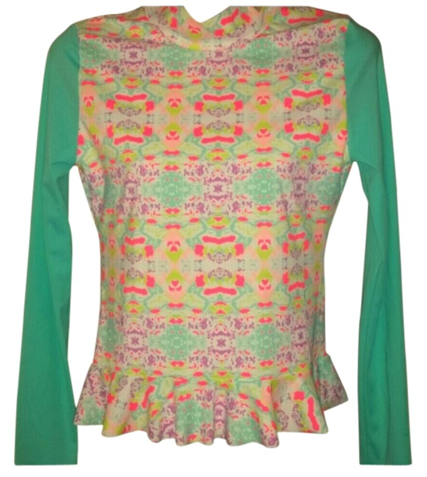 c86f5c86ebbb9 Victoria's Secret Multicolored Beach Top and Bottom. Cover-up/Sarong Size 4  (S) 54% off retail