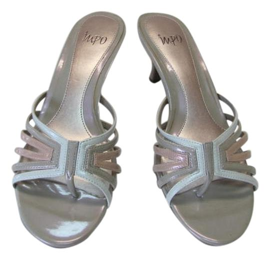 Impo New Size 8.50 neutral, white, pink Sandals