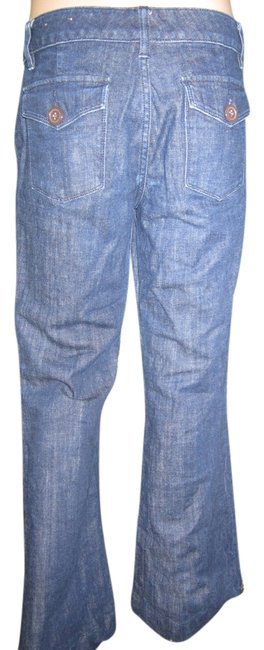 The Limited High Quality High-end Cool Pockets Trouser/Wide Leg Jeans-Dark Rinse