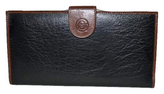 Preload https://item3.tradesy.com/images/blackbrown-lorenti-italiano-leather-checkbook-wallet-4878337-0-0.jpg?width=440&height=440