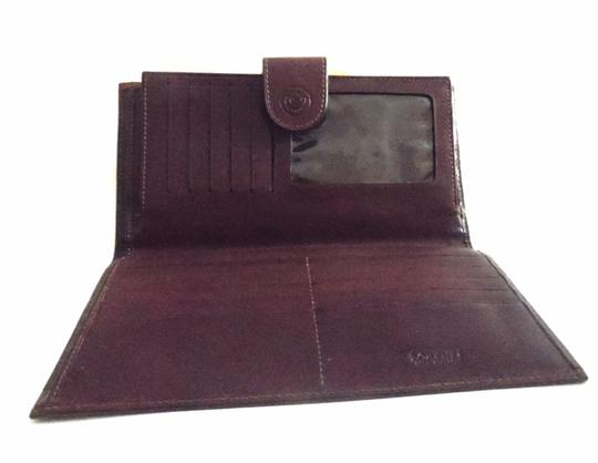 Other Lorenti Italiano Leather Checkbook Wallet